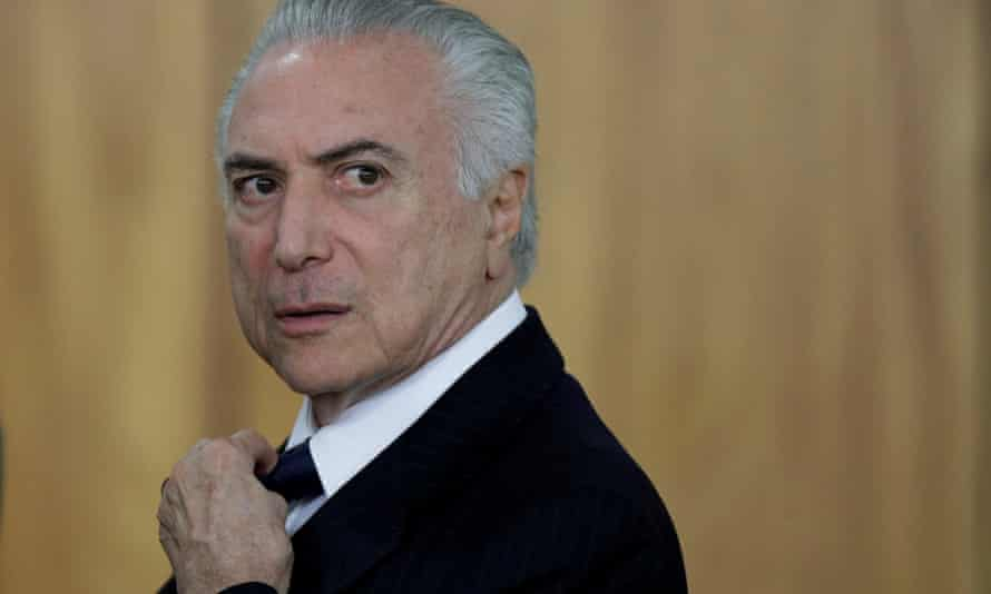 Brazilian president Michel Temer has been charged in connection with a scheme involving the world's largest meatpacker, JBS.
