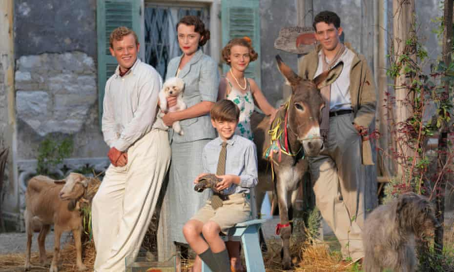 Familiar faces … The Durrells, the TV adaptation of My Family and Other Animals.