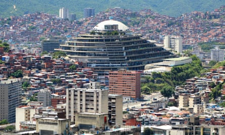 El Helicoide (the helix) serves as the headquarters of Venezuela's National Bolivarian Intelligence Service.
