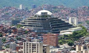 El Helicoide prison in Caracas, venezuela
