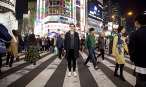 On the town … Japan With Sue Perkins.