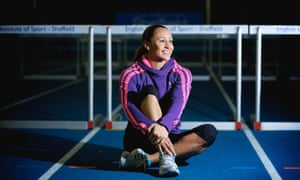 Jessica Ennis-Hill at the English Institute for Sport in Sheffield in 2012