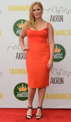 Amy Schumer at Montrose Stadium 12 for a screening of Trainwreck, 2015