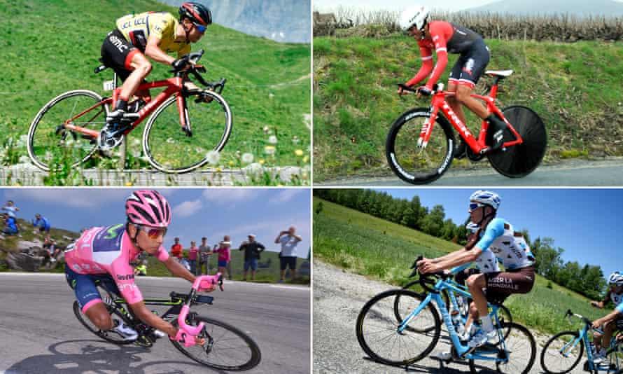 Richie Porte, Alberto Contador, Romain Bardet, Nairo Quintana are all contenders for the 2017 Tour de France title.