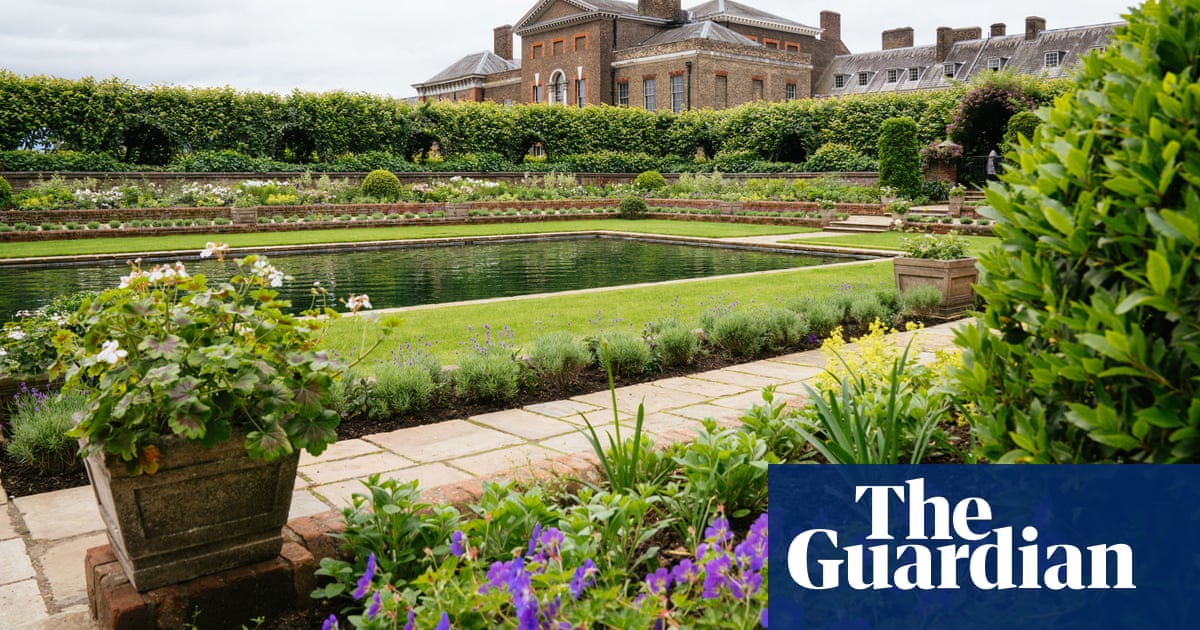 Diana statue to stand in redesigned garden at Kensington Palace