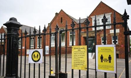 Burlington school in Bridlington, northern England.