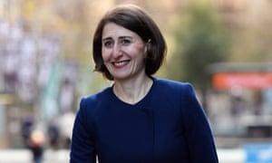 NSW treasurer Gladys Berejiklian