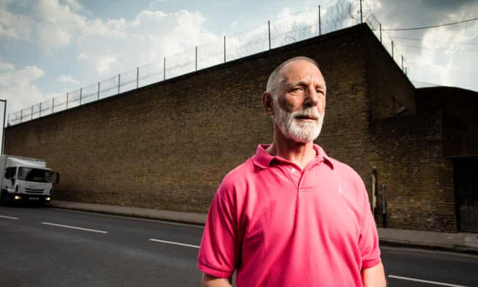 John Massey, outside Pentonville prison