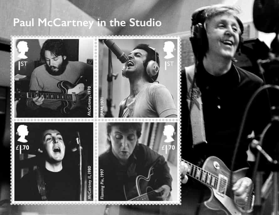 The mini-sheet of studio portraits.