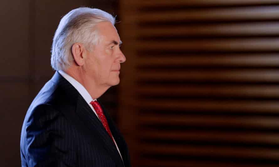The US secretary of state, Rex Tillerson: 'Clearly the level of spending that the state department has been undertaking, particularly in this past year, is simply no sustainable.'