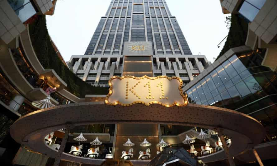The K11 art mall in Shanghai, China.