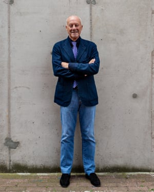 Norman Foster at Millwall Docks