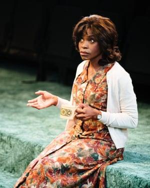 Rakie Ayola as Vivian in Strange Fruit
