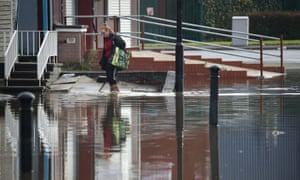 The weather warning follows flooding in northern England.
