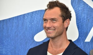 Jude Law will follow in the footsteps of Richard Harris and Michael Gambon.