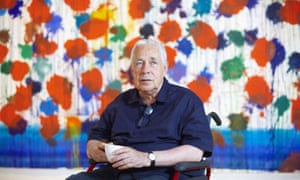 Howard Hodgkin unveils As Time Goes By at the Cristea Gallery, London, in 2009.