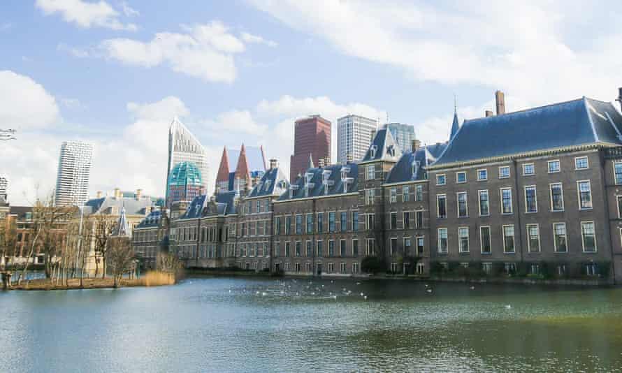The Binnenhof, the Dutch parliament building