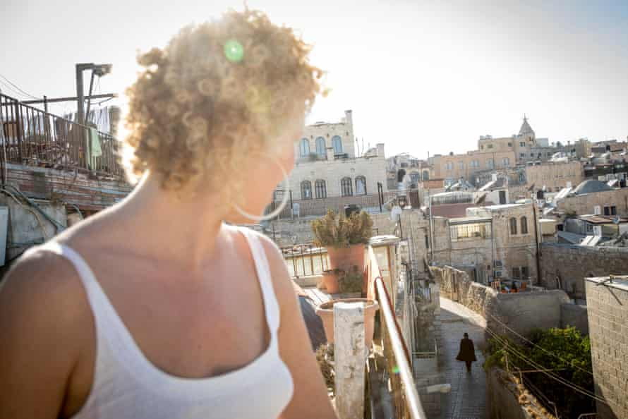 Hannah Ellis-Petersen takes in the view from the roof of the Citadel youth hostel