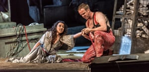 Claire Wild and Adria Dwyer in Welsh National Opera's Khovanshchina.