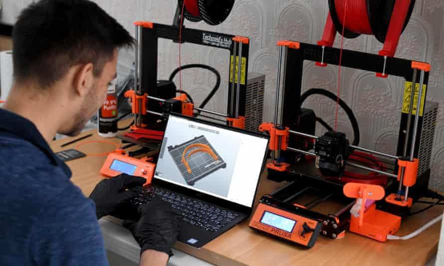 3D printing plastic parts