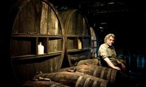 Julian Temperley owner, Burrow Hill Cider.