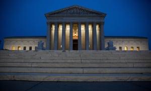 The supreme court on 8 November