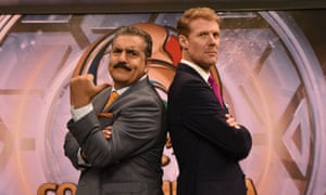 Fernando Fiore and Alexi Lalas on Fox Sports 1. By turns chatty, angry, pompous and silly, Fiore is the lovable blowhard Argentinian uncle American football TV has been waiting for.