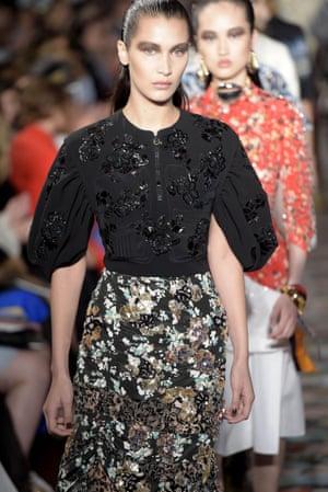Bella Hadid walks at the Dior Cruise Collection.