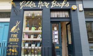 Golden Hare in Edinburgh – winner of this year's Independent Bookshop of the Year at the British Book Awards.