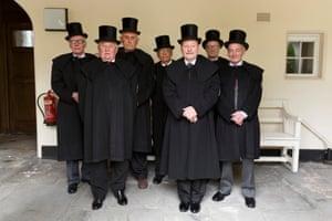The Gentlemen of Trinity Hospital, Greenwich. 2015
