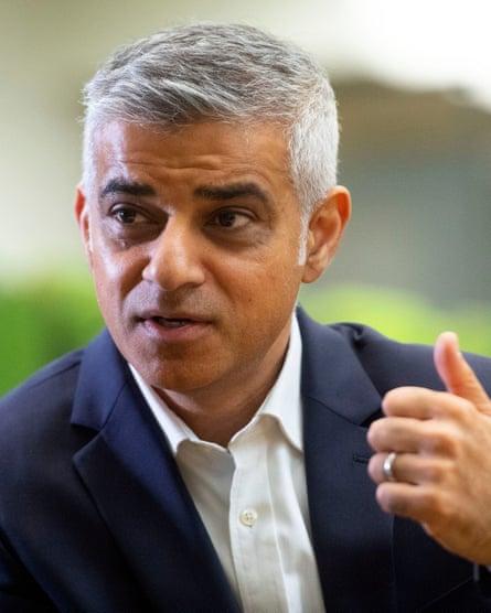 London mayor Sadiq Khan vowed to support 'tenure-blind' housing.