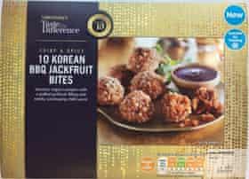 Korean BBQ jackfruit bites