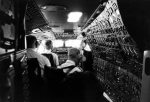 Inside the Conorde cockpit