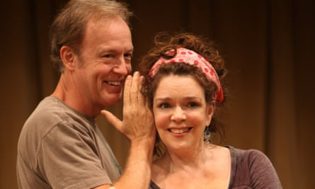 Reed Birney and Deirdre O'Connell in Baker's Circle Mirror Transformation, 2009.