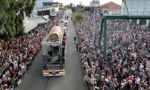 The Highway to Hell event was part of Perth festival in 2020 – the kind of crowded event that won't be happening in 2021.