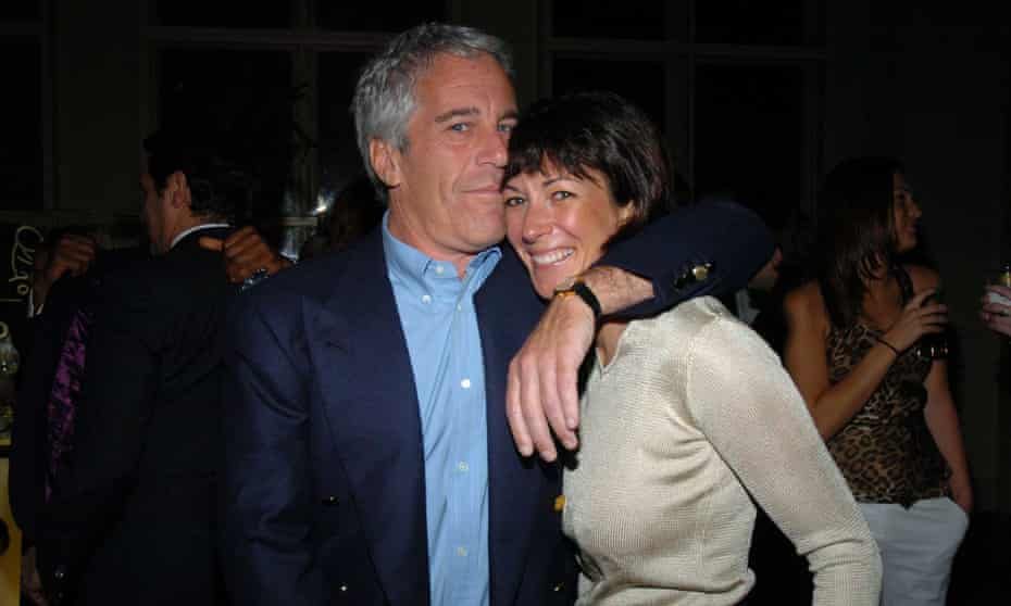 Ghislaine Maxwell with Jeffrey Epstein: the two seemed mutually dependent.