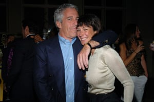 Ghislaine Maxwell is accused of recruiting girls for Jeffrey Epstein's sex trafficking ring.