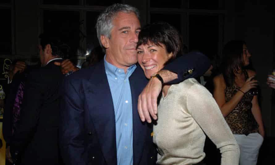 Jeffrey Epstein with his longtime confidante Ghislaine Maxwell in March 2005 in New York City.