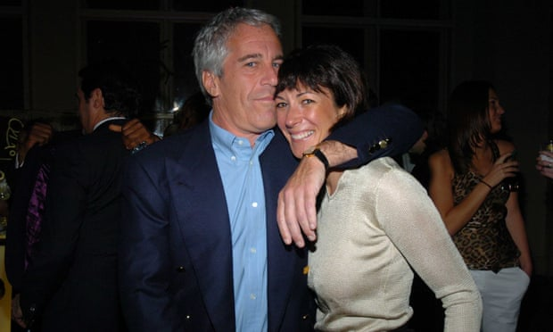 Jeffrey Epstein with his longtime confidante Ghislaine Maxwell in March 2005 in New York City. Photograph: Patrick McMullan/Patrick McMullan via Getty Images