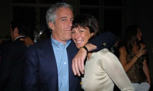 Jeffrey Epstein with Ghislaine Maxwell, who was the subject of a lawsuit by the Epstein accuser Virginia Roberts Giuffre.