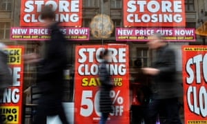 Rising business rates will drive more shops out of business.