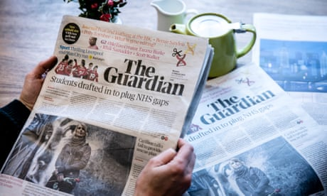 The Guardian breaks even against the odds: we couldn't have done this without you