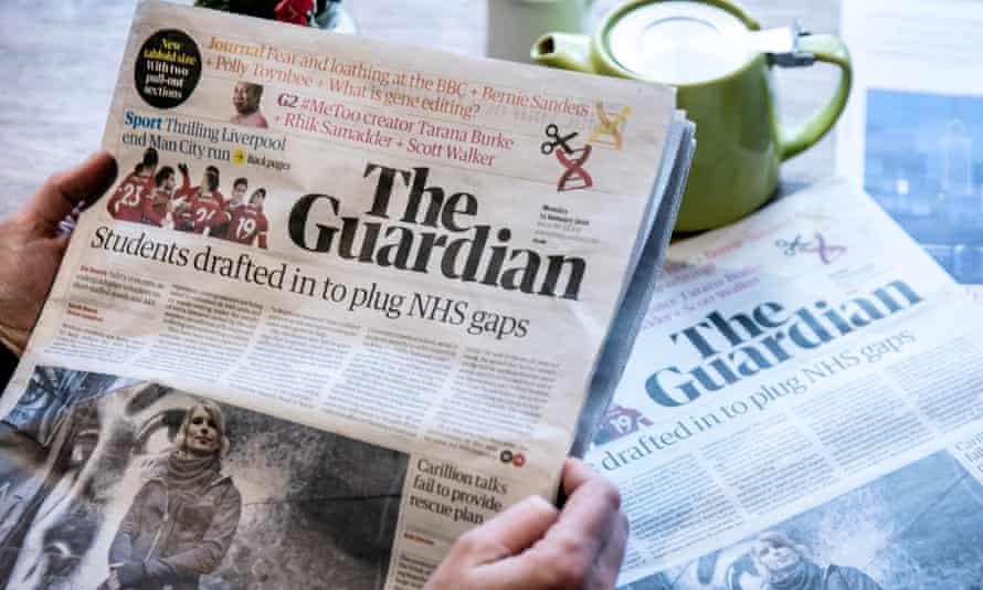 Guardian tabloid edition