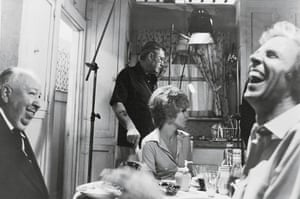 Family Plot (1976) Hitchcock amuses Bruce Dern (right) between takes. Dern once commented that Hitchcock was a subtle man and the best actor he ever worked with