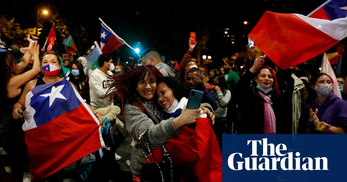 A plebiscite called in response to street protests in 2019 sees 78% of people back a new charter to replace one imposed by military dictator