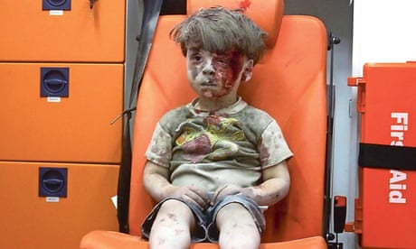 Omran's picture must be a turning point in Syria's war