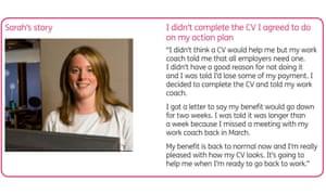 DWP fake claimants leaflet