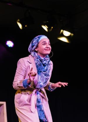 Nadi Kemp-Sayfi in Hijabi Monologues.