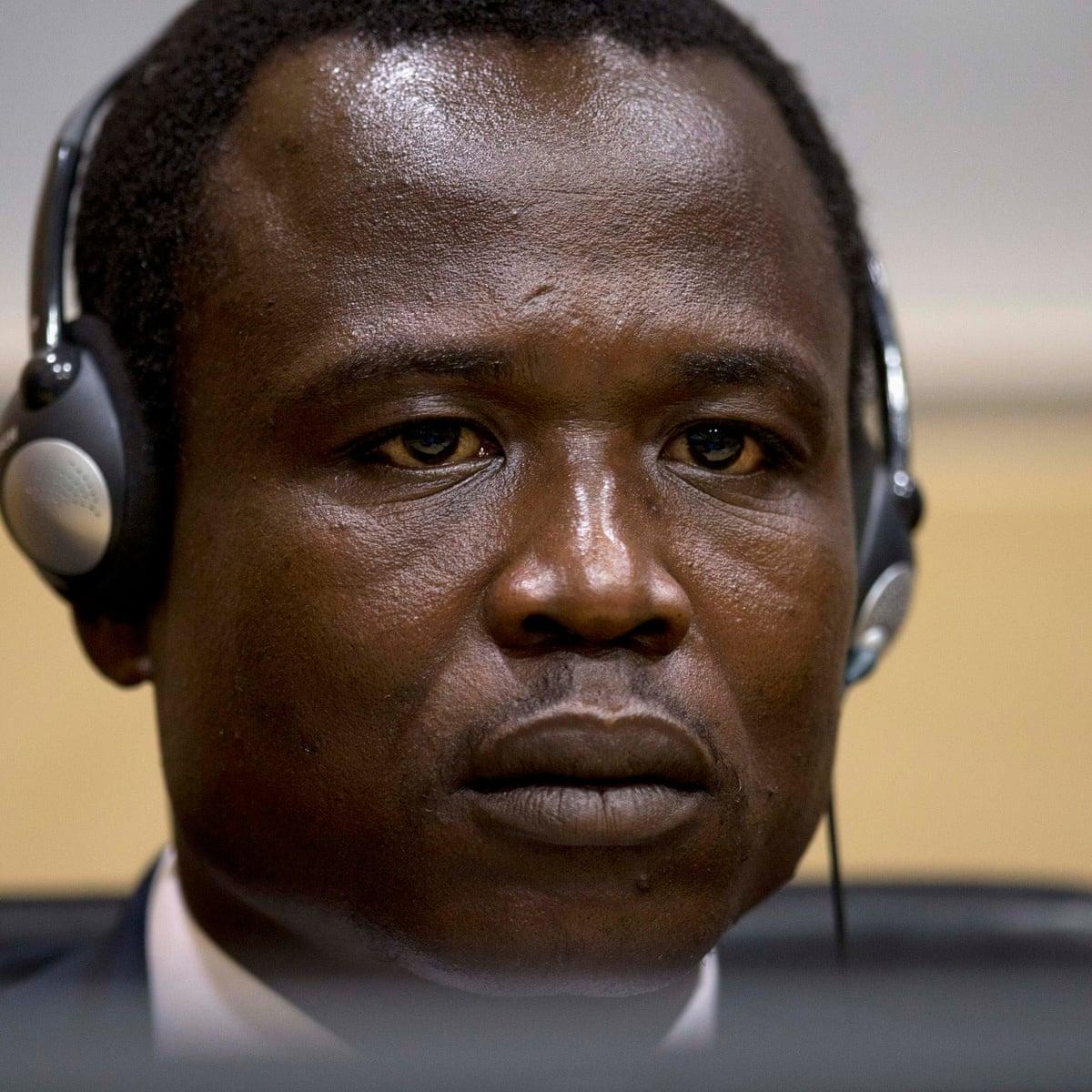 Image result for Ugandan rebel commander found guilty of war crimes, crimes against humanity