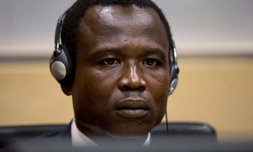 Dominic Ongwen, a former commander in the Lord's Resistance Army in Uganda
